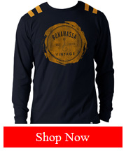 Joe Bonamassa JB Navy Bruiser Long Sleeve Tee