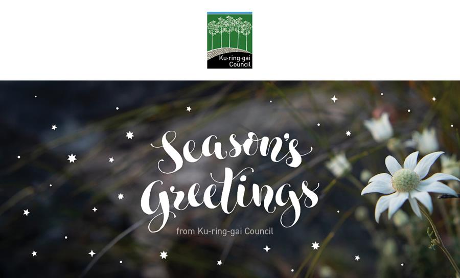 Seasons greeting banner