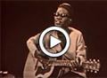 Blues In Motion: Lightnin' Hopkins Strums Up a Storm