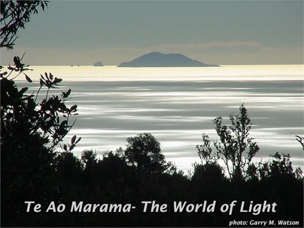 Te Ao Marama- The World of Light