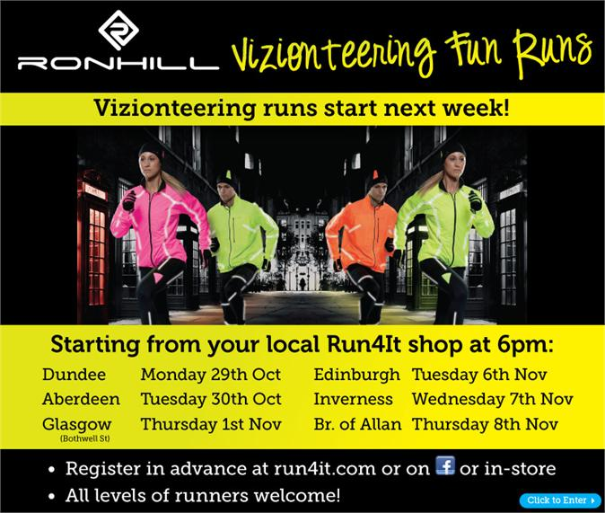 vizionteering runs start next week