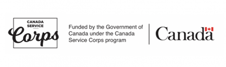 Funded by the Government of Canada under the Canada Service Corps program