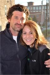 Patrick Dempsey and Laura Davis