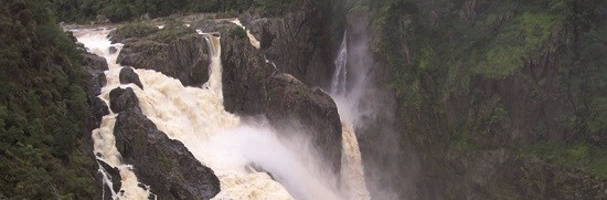 The beautiful Barron Falls, Kuranda