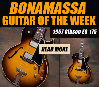 Joe Bonamassa's Guitar of the Week. 1957 Gibson ES-175. Read more.