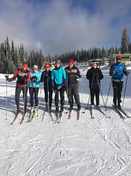 Team BC 2020 Training Squad cross country skiers