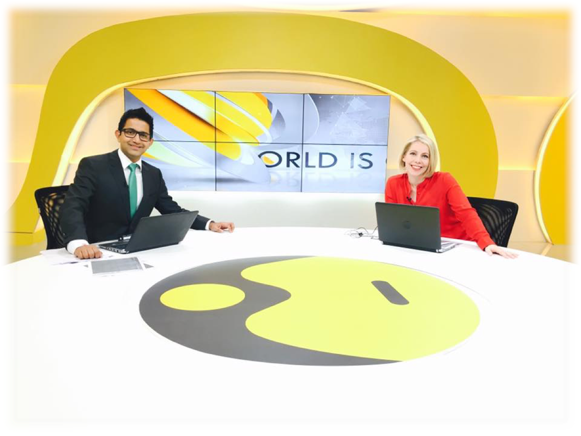 World Is One News (WION) - the youngest venture of Zee Media Corporation
