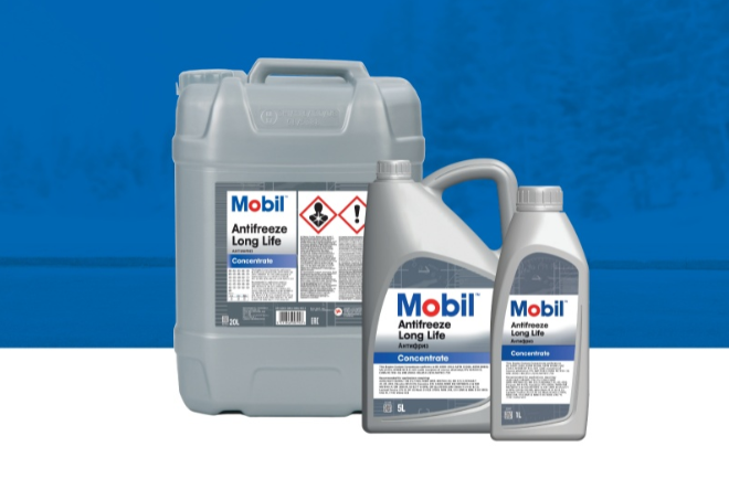 New Mobil Antifreeze developed by Moove Europe