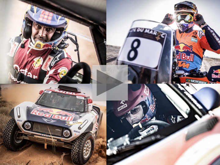 Dakar champions make their mark with wins at Rallye du Maroc