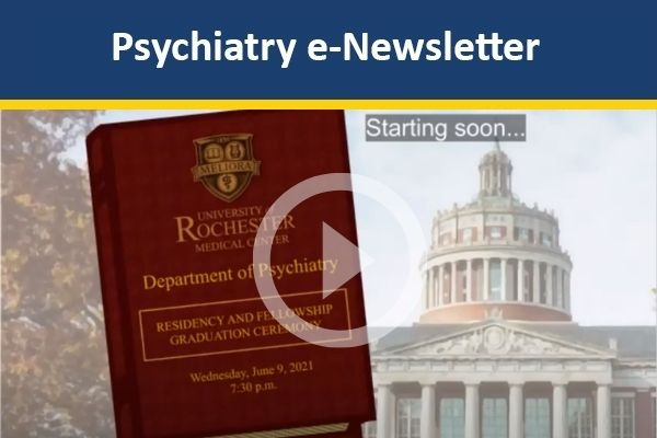 Thumbnail image for Psychiatry Residency and Fellowship Graduation