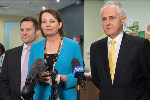 Health care homes announcement by Prime Minister Turnbull and Minister Ley