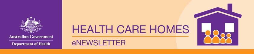 Health care homes eNewsletter