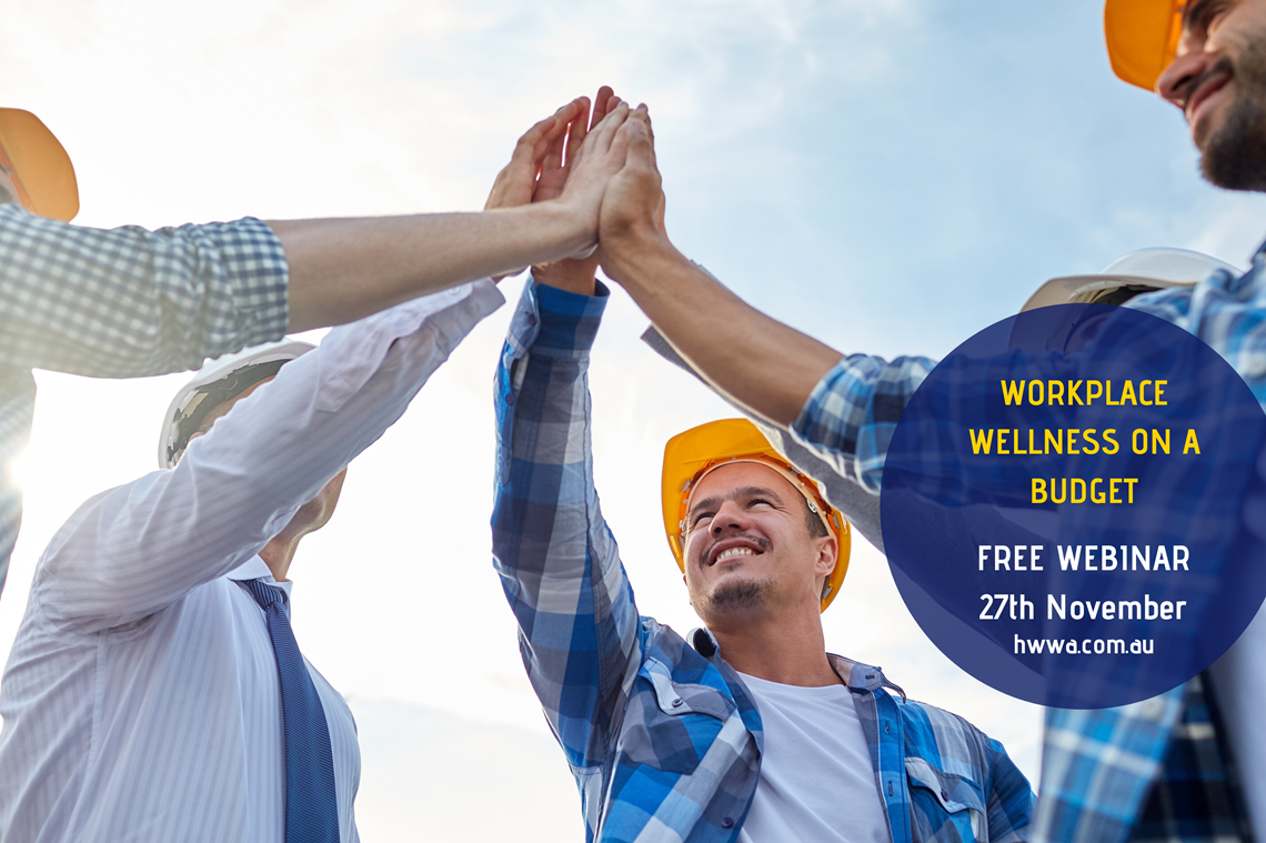 FREE webinar - Workplace Wellness on A Budget