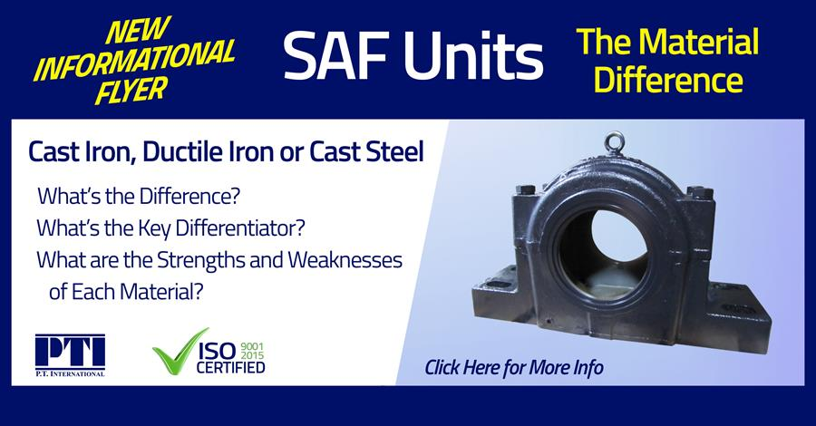 SAF Units - Cast Iron, Ductile Iron and Cast Steel