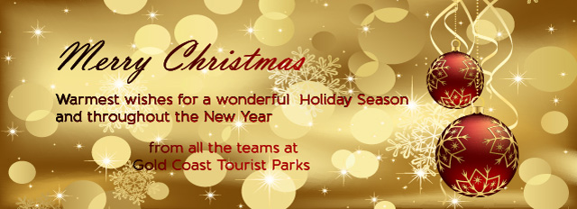 Merry Christmas from Gold Coast Tourist Parks