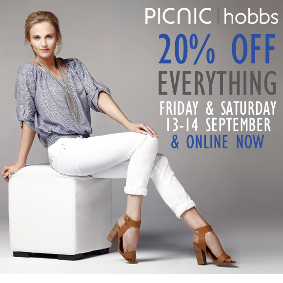 20% OFF EVERYTHING... FRI & SAT OR ONLINE NOW