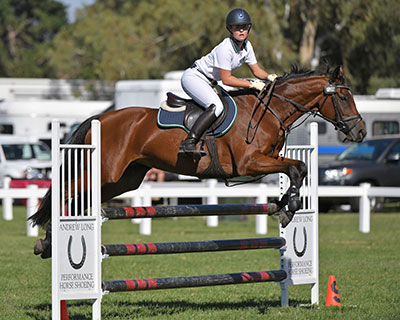 Competitors at the Horseware Australia Victorian Interschool Equestrian State Championships