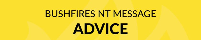 Bushfires NT Message Advice