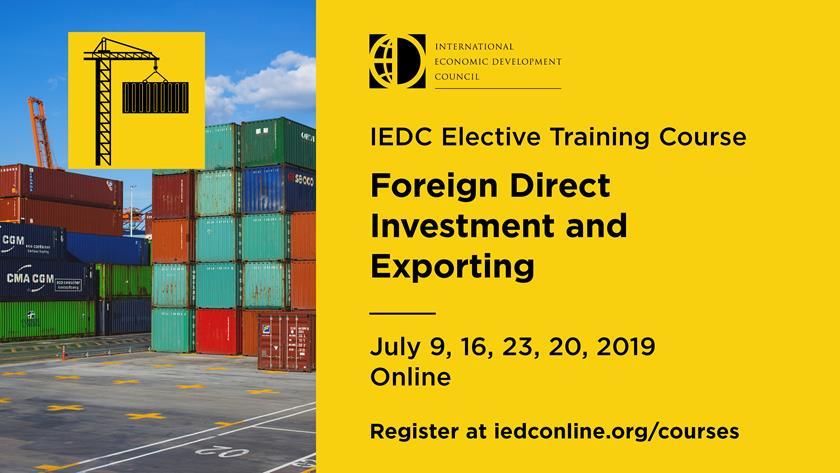 IEDC FDI Banner