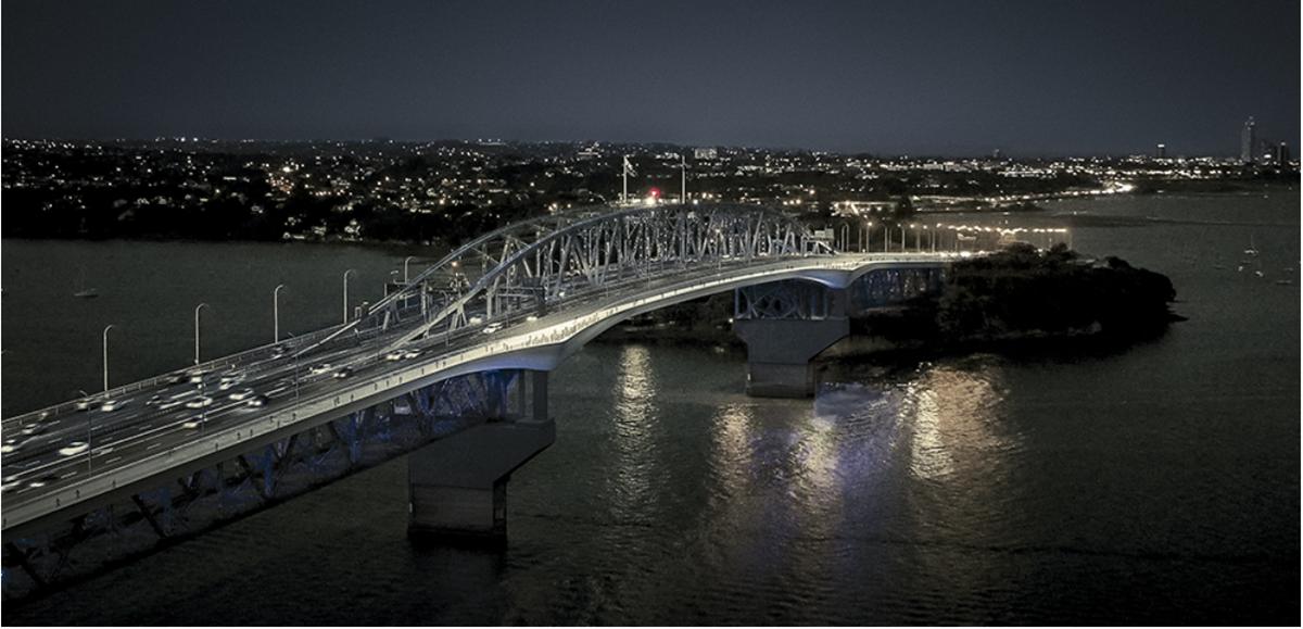 Auckland Harbour Bridge Shared Path