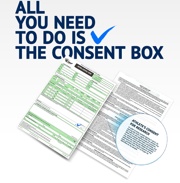All you need to do is tick the consent box