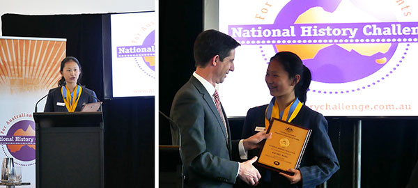 National Young Historian of the Year