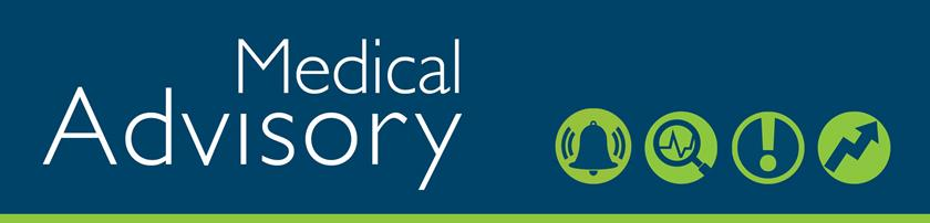 Medical Advisory