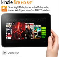 Kindle Fire HD 8.9''   $499