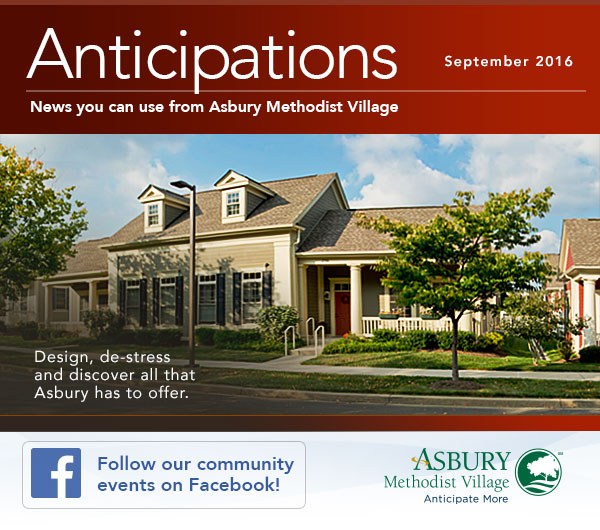 Anticipations - September 2016. Follow our community events on Facebook