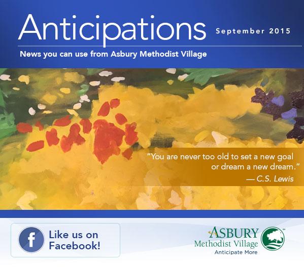 Anticipations - September 2015. Like us on Facebook!