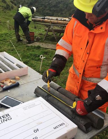 The project team has completed geotechnical investigations along the proposed corridor of the replacement route.  A total of 15 bore holes (the deepest being 50 metres) yielded 530 metres of core samples which have now been sent t