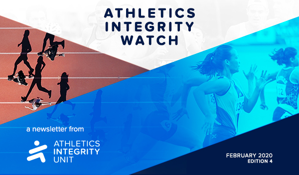 Athletics Integrity Watch - A Newsletter from Athletics Integrity Unit