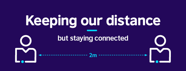 "British Council statement on Covid-19 ""Keeping our distance but staying connected"""