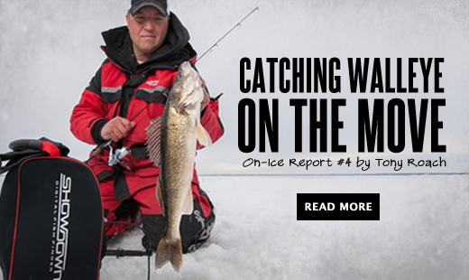 Catching Walleye on the Move with Tony Roach