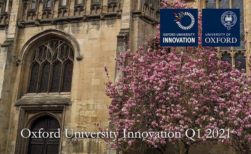Oxford University Innovation Q3 Update