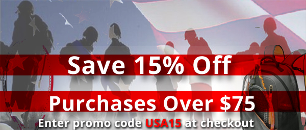 15% Off - Veterans Day Weekend