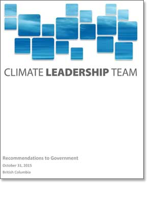 Climate Leadership Team Recommendations Report