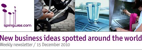 Springwise newsletter | New business ideas for entrepreneurial minds