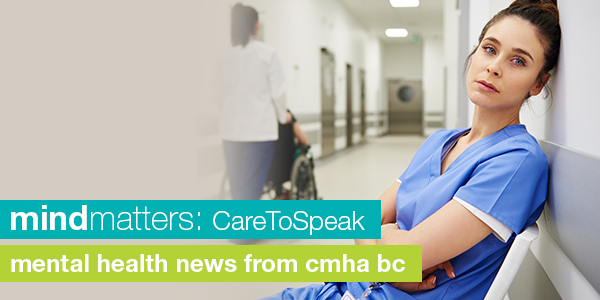 Care to speak peer support for health care workers