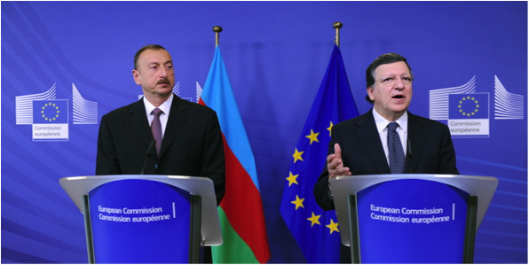 Aliyev and Barroso