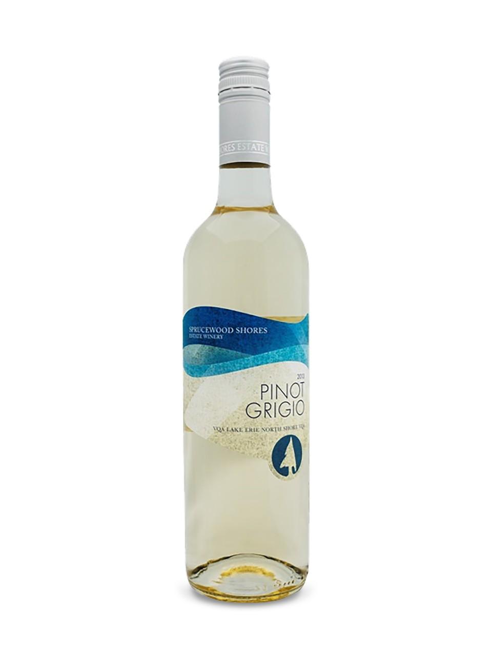 Wine of the WeekendSprucewood Shores Estate Winery Pinot Grigio 2016 VQA Ontario