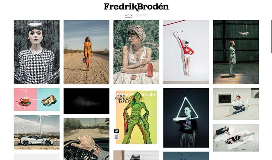 PhotoFolio Client Fredrik Brodén