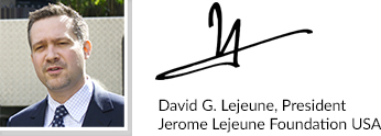 David Lejeune signature block