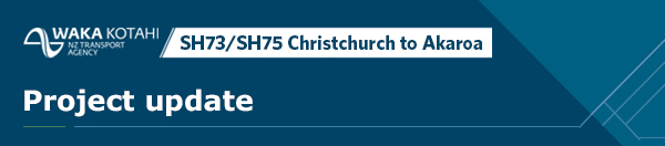 SH73/SH75 Christchurch to Akaroa speed review project update